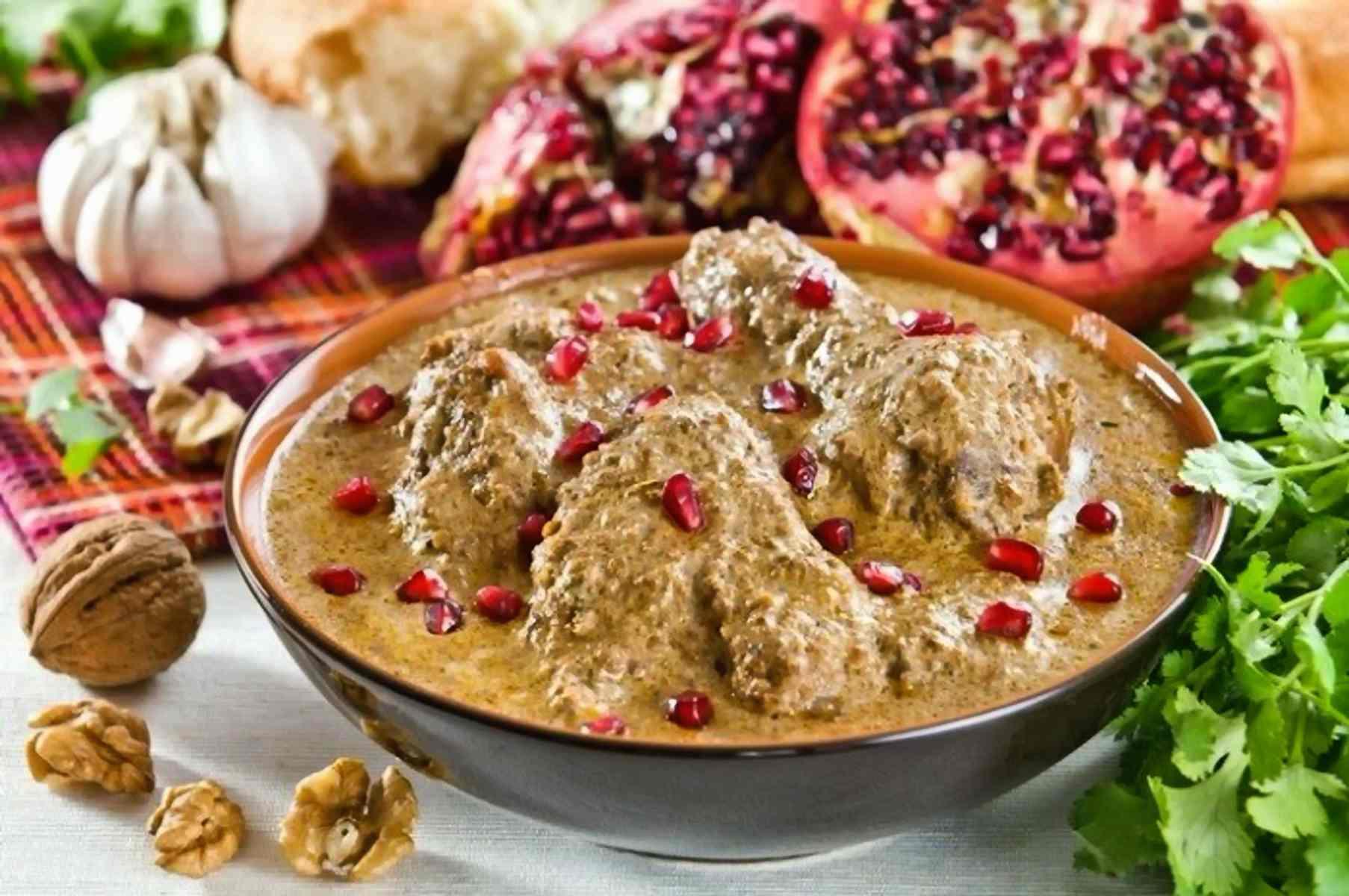 3 грузинских блюда c грецким орехом