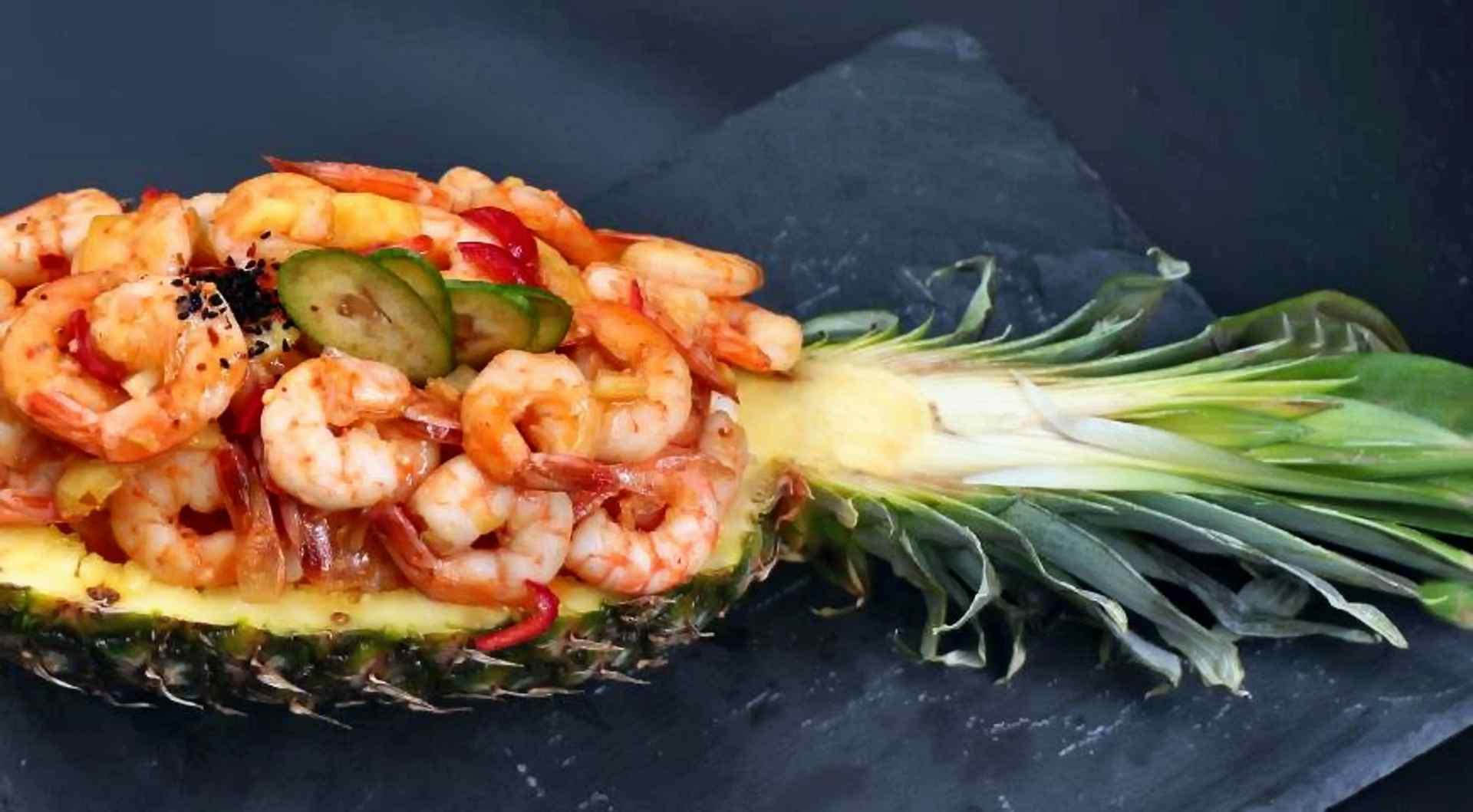 по-моему, салат в ананасе рецепт с фото тайский поделок бажову