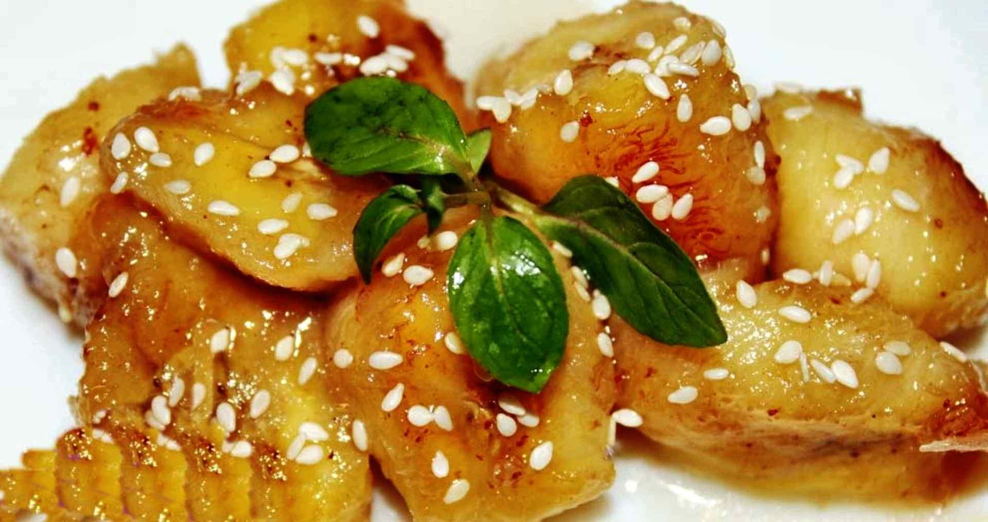 Ресторанный вкус дома — бананы в карамели